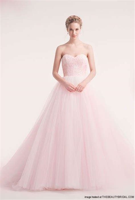 Soft Pink Wedding Gowns by A Mint Green And Pink Quinceanera