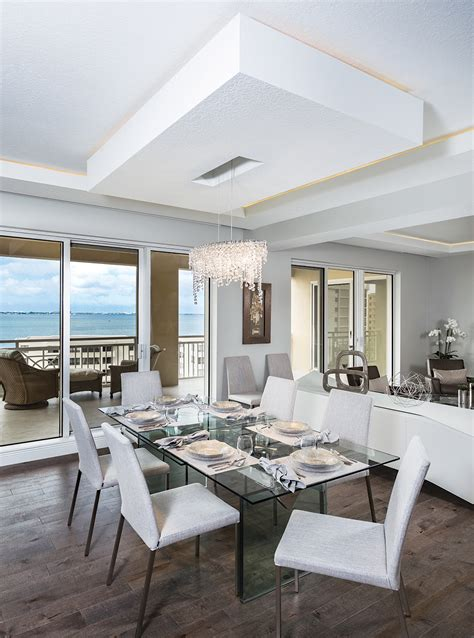 modern design in modest proportions modest to modern a sarasota bay condo revival home