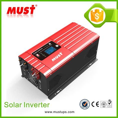 Inverter Must must low frequency smart inverter sine wave power