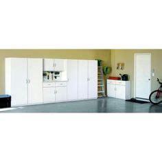 Garage Cabinets Osh 48 In Multi Purpose Wardrobe Cabinet In White Home