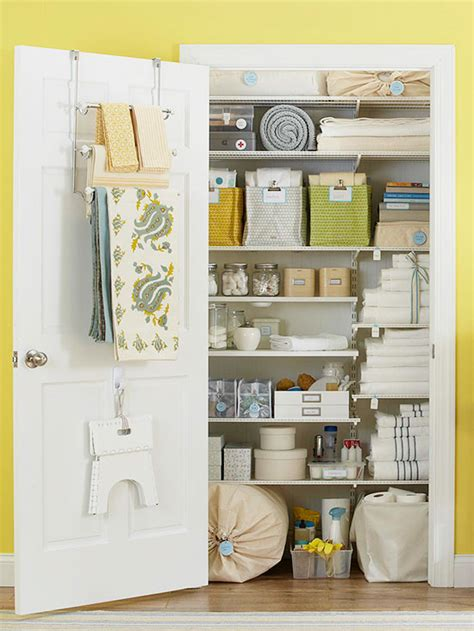 Linen Closet Organization Systems 20 Clever Small Bathroom Ideas