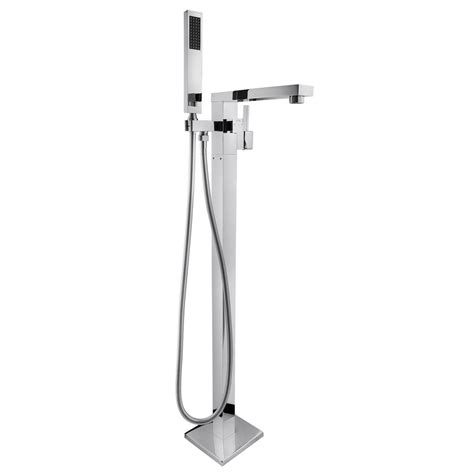 floor mount bathtub faucet akdy 1 handle freestanding floor mount roman tub faucet