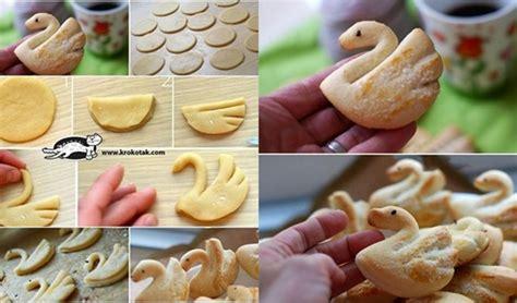 diy cookies wonderful diy swan cookies