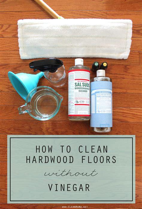 clean hardwood floors  vinegar clean mama