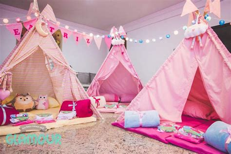 themes for a girl slumber party kara s party ideas pajama sleepover themed birthday party