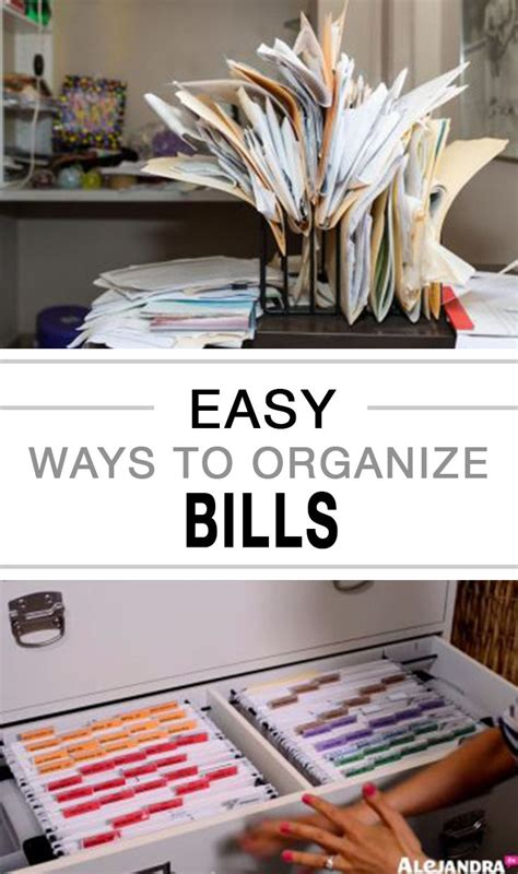 organize bills 25 best ideas about bill organization on pinterest