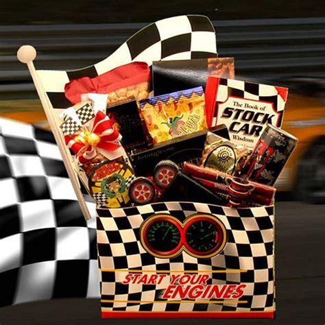 gifts for nascar fans nascar fan gift basket gift baskets pinterest cars