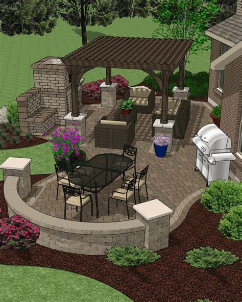 hardscape designs for backyards 25 best ideas about landscape plans on pinterest