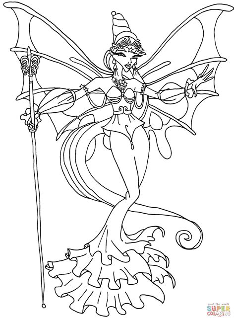 latest related coloring pages with winx coloring page