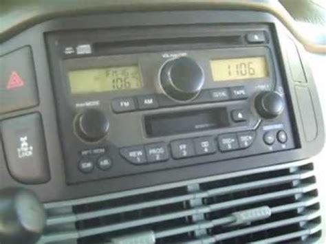 honda pilot car stereo removal and repair 2003 2005