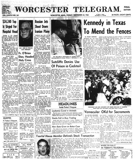 Telegram Home Team by Photos Front Page Archives Anniversary Of Jfk S