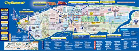 map of ny attractions streets of new york city attractions and map new zone