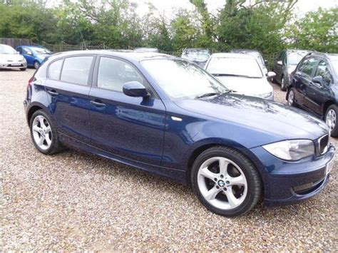 Bmw 1 Series Hatchback Price 2010 by Used Bmw 1 Series 2010 Blue Paint Diesel 118d Sport 5dr