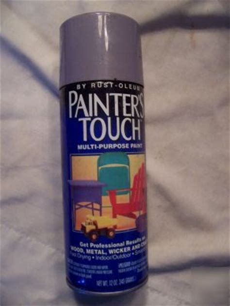 spray painters touch violet mist 1962 rustoleum painters touch spray paint