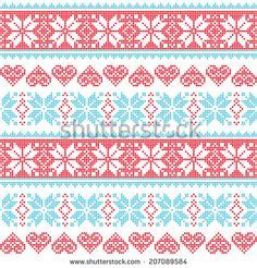pattern red winter clothes horde 1000 images about winter patterns on pinterest winter