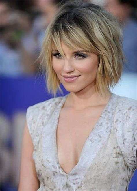 medium hairstyles with bangs for women who are overweight 21 easy hairdos for short hair popular haircuts