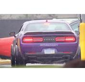 2018 Dodge Challenger SRT Demon SPIED  Specs Spy Photos Review