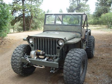 jeep willys custom modified willys jeep love those bfgs mt km2 s trucks