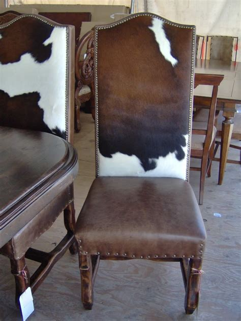 Cowhide Chair Australia - in looooove with these chairs cowhide dining chair