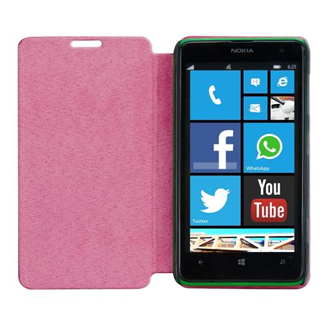 Nokia 2600 Casing Pink flip cover for nokia lumia 625 pink slim back shell mobile phone ebay