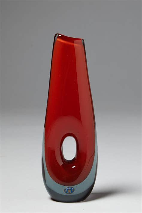 Vase Lighting Vase Designed By Vicke Lindstrand For Kosta Sweden 1950