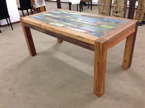 Tisch Recyceltes Holz by Esstisch Aus Recyceltem Holz Der Tischonkel