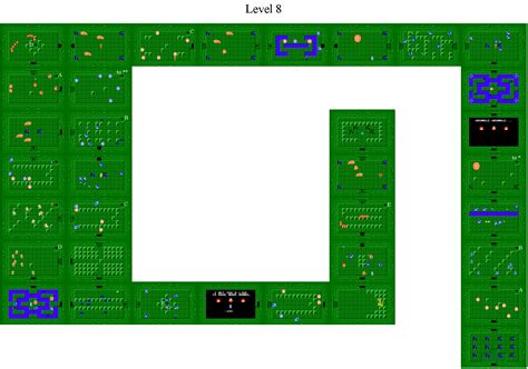 legend of zelda map level 2 location legend of zelda second quest dungeon maps