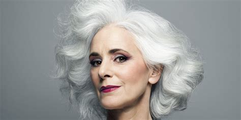 hair colors for women over 60 gray blue younger looking skin