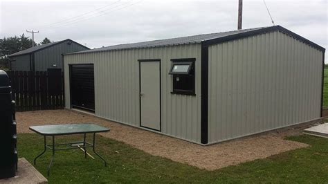 Steel Framed Shed by Steel Sheds H2 Sheds