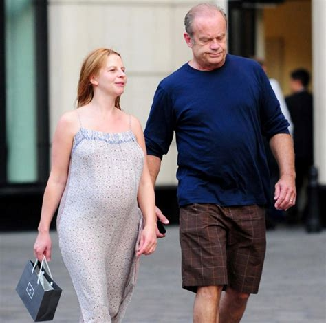 kelsey grammer wife kelsey grammer s shopping spree with pregnant wife ny