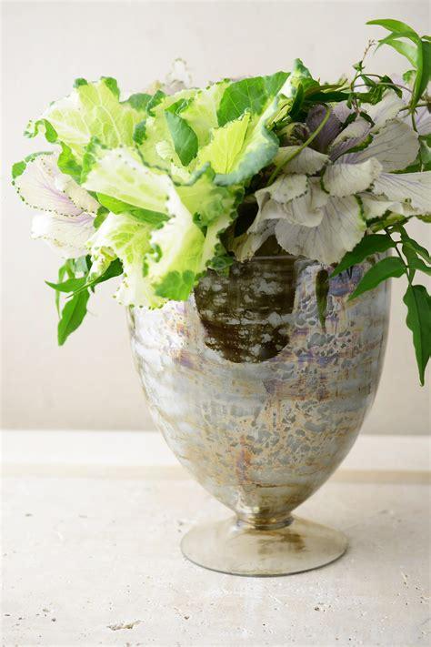 Glass Floral Vases Mercury Glass 8 5 Quot Embrace Glass Floral Vase