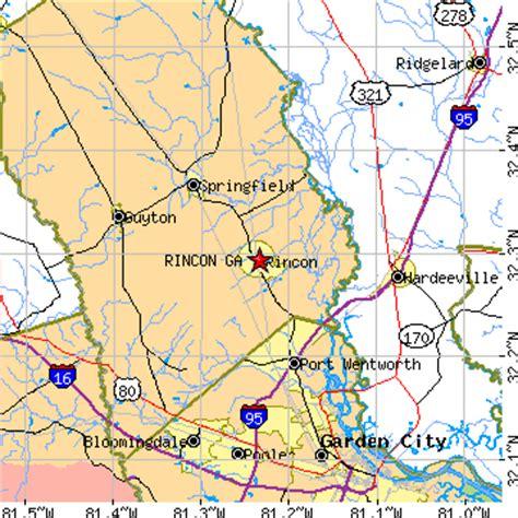 Garden City Zip Code Ga Rincon Ga Population Data Races Housing