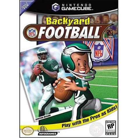 backyard football gamecube backyard football gamecube game