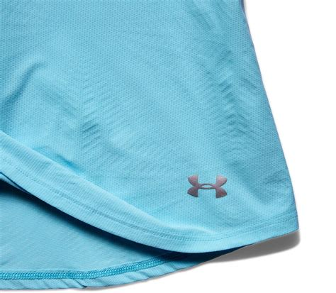 light blue running tank armour coolswitch tank top s running top