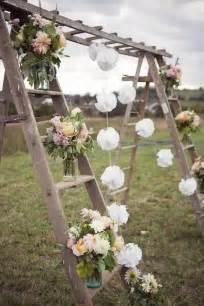 outdoor wedding trellis ladder trellis different outdoor wedding decor
