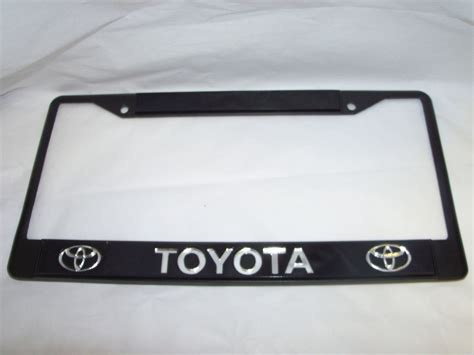 Toyota Frame toyota license plate frame brand new ebay