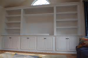 Do It Yourself Built In Bookcase Plans Built In Cabinet Plans Submited Images