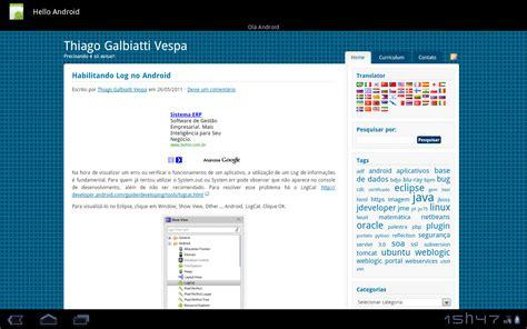 hello android seu site como aplica 231 227 o no android thiago galbiatti vespa