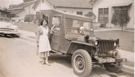 japanese jeep photos of us air force fire chief willys jeep in japan