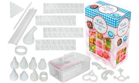 decorations set 100 cupcake decorating set groupon goods