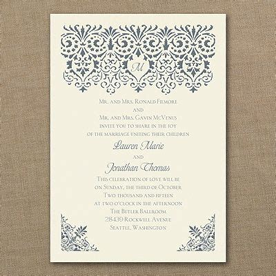 Media Plus Wedding Invitations