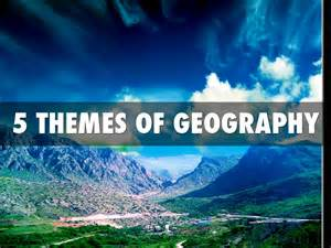 5 themes of geography california 5 themes by leeanne courchaine