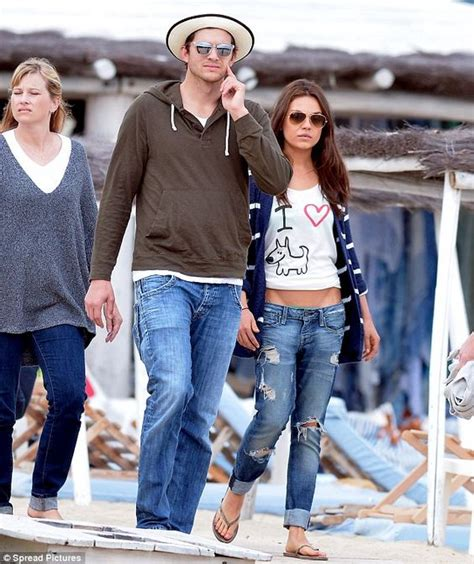 Dont Ask Ashton Kutcher Anything Personal by Ashton Kutcher And Mila Kunis Style