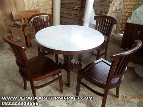 Meja Makan Marmer Antik 5 Kursi 50 daftar harga kursi makan minimalis jati terlaris