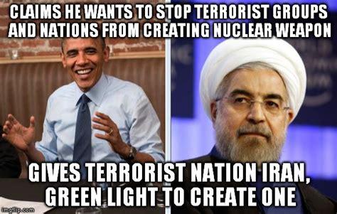 obama and iran imgflip
