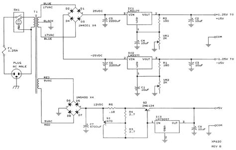 bench power supply i schematic design