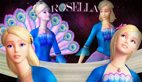 cartoons  barbie island princess rosella moving hd