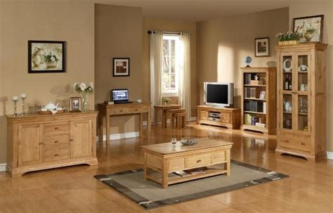 oak livingroom furniture upgrade your garden and living room using oak furniture
