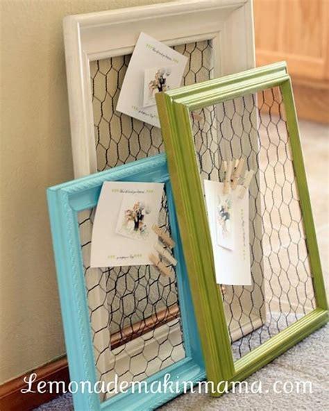 repurposed vintage picture frames