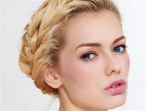 braut make up blaue augen blaue augen blonde haare schminken